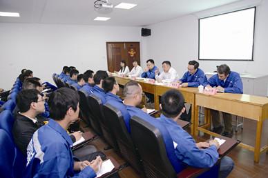 集团举行中天大学启动仪式 暨2016炼铁系统培训开班仪式