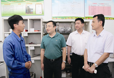 团中央领导赞赏集团共青团工作: 丰富多彩,值得学习借鉴