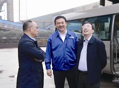 省环保厅副厅长陈志鹏赞赏集团环保工作
